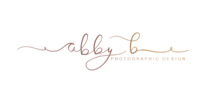 Abby B Photographic Design, Site Logo