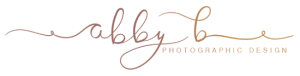 AbbyB Photograpic Design, Site Logo
